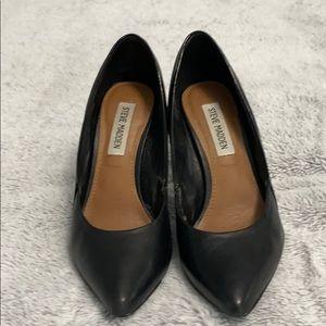 Steve Madden Clydee Black Heels